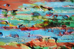 Mud, paint, watercolor hues, spots, abstract background Royalty Free Stock Images