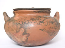 Mud pot Stock Image