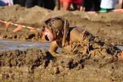 Mud race Royalty Free Stock Images
