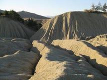 Mud ridges Stock Image
