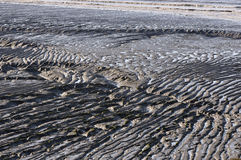 Mud ripples Royalty Free Stock Photos