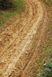 Mud road Stock Photo