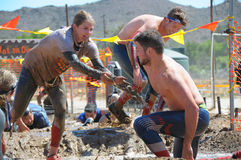 Mud Run Royalty Free Stock Images
