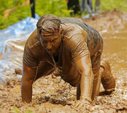Mud Run Wet Clothes Royalty Free Stock Image