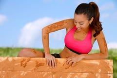 Mud Run Stock Photo