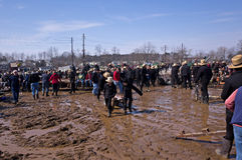 Mud Sale Royalty Free Stock Image