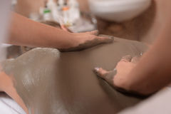 Mud skin treatment