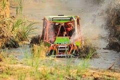 Mud splash. In off-road racing royalty free stock photo