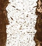 Mud splat pattern. On white background Royalty Free Stock Photos