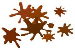 Mud Splatter Vector Illustration Royalty Free Stock Image