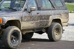 Mud Splattered Auto Royalty Free Stock Photo