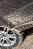 Mud splattered SUV Royalty Free Stock Image