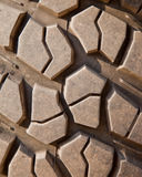 Mud terrain tire. Stock Photography