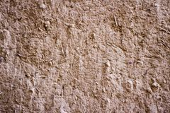 Mud texture of wall architecture and wallpaper. Wooden texture and pattern, rocky and sandy textured used for construction, interior, exterior and decoration royalty free stock photography