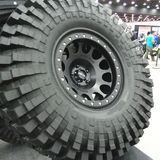 Mud tire Royalty Free Stock Photography