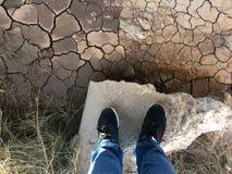 Mud under the bridge Stock Image
