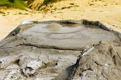 Mud volcano Royalty Free Stock Images