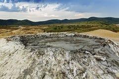 Mud volcano closeup Stock Photo