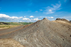 Mud Volcano cone Stock Photos