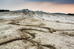 Mud volcano Stock Image