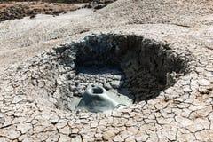 Mud volcano Royalty Free Stock Image