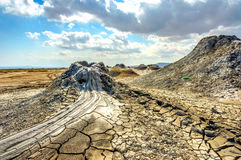 Free Mud Volcano Crater, Gobustan, Azerbaijan Royalty Free Stock Photos - 82676558