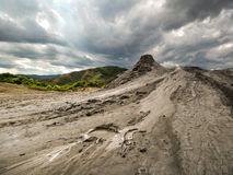 Mud volcano Stock Images