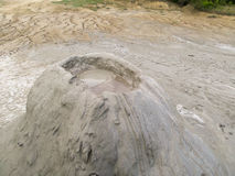 Mud volcano Royalty Free Stock Photo