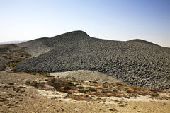 Mud volcano in Lokbatan near Baku. Azerbaijan Stock Photography