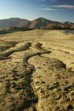 Mud volcano phaenomenon royalty free stock photography