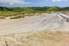 Mud Volcano. In Romania Royalty Free Stock Images