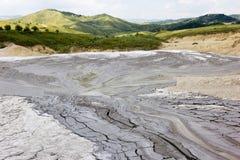Mud Volcano. In Romania Stock Photography