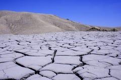 Mud volcano in Romania. Landscape of mud volcano in Romania Stock Images