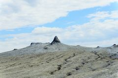 Mud volcano Royalty Free Stock Photography