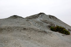 Mud Volcano Slope Stock Photo