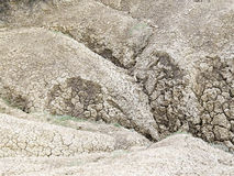Mud volcano - texture Royalty Free Stock Images