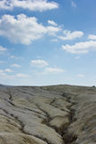 Mud volcanoes. Active mud volcanoes, buzau, romania Stock Photography