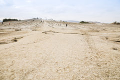 Mud volcanoes Royalty Free Stock Image