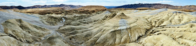 Mud volcanoes Royalty Free Stock Photos