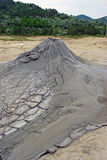 Mud volcanoes Royalty Free Stock Photo