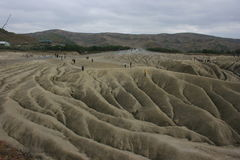Mud Volcanoes at Berca Royalty Free Stock Photo