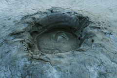 Mud Volcanoes at Berca, Romania Royalty Free Stock Photo