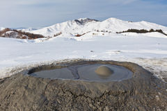 Mud Volcanoes in Buzau, Romania Royalty Free Stock Images