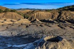 Mud Volcanoes in Buzau, Romania Stock Photo