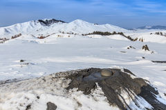 Mud Volcanoes in Buzau, Romania Royalty Free Stock Photography