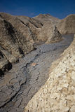 Mud Volcanoes in Buzau, Romania Stock Photography