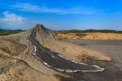 Mud Volcanoes in Buzau, Romania Stock Image