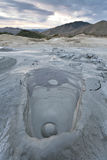 Mud Volcanoes In Buzau, Romania Royalty Free Stock Photo