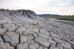 Mud Volcanoes from Paclele Mici Stock Photos