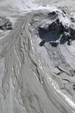Mud volcanoes Stock Photos